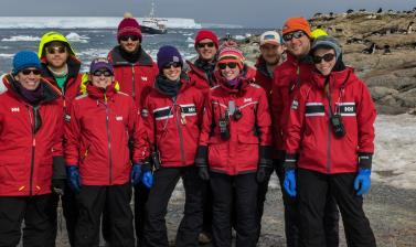 danger islands expedition team members on heroina island danger islands antarctica credit alex borowicz stony brook university
